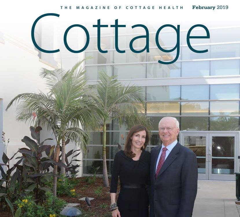 Cottage Health Magazine Cover February 2019