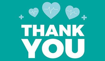Cottage Health Staff Thank You Card