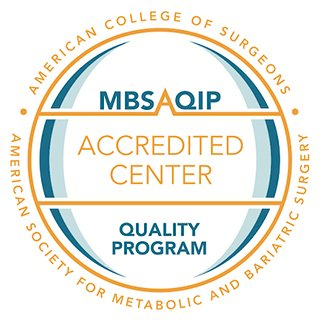 MBSQIP-Accredited Center Seal