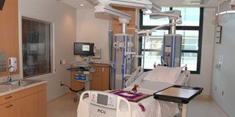 Room in the Pediatric Intensive Care Unit