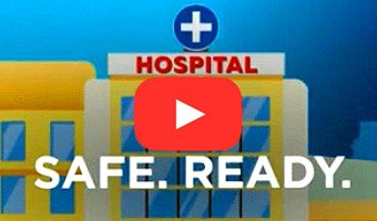 Hospitals are safe and ready for care