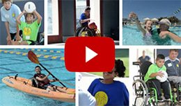 2018 Jr. Wheelchair Sports Camp video