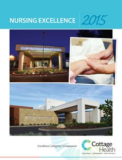 Cottage Health Nursing Excellence 2015
